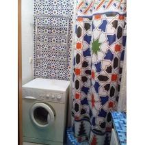 Занавеска для ванной с рисунком плитки Mainzu cordoba