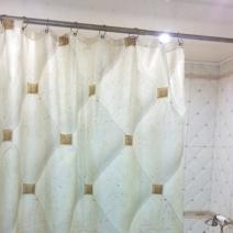 Занавеска для ванной под плитку STN Stylnul Orion Crema