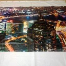 Занавеска для душа с изображением Шанхая
