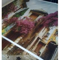 Занавеска с изображением Улочки Прованса
