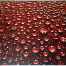 Тканевая шторка для ванной с рисунком плитки Golden Tile Кайман