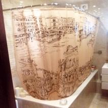 Занавеска для ванной Венеция